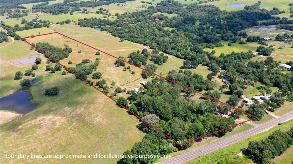 Hard to find 16+/- acres & an updated 3/2 home. Beautiful mature trees throughout the property, a winding creek onsite that attracts deer & other wildlife. Property includes 2 barns, a storage building & a detached garage! Road frontage on FM 60, as well as easement access from CR 413. Gorgeous open fields in the back of the property. Many updates including new roof in 2019, new AC in 2016, new pipe entrance, creek crossing makes it possible to access the entire property by truck, ATV or tractor, brand-new water well in 2020, underground electricity to the home & the list goes on! The home features recent interior paint, tile flooring & electric work, along w/ all new windows & doors. A full improvement list is attached. Don't miss this rare opportunity located just minutes to Lake Somerville, and a short drive to Brenham (25 miles), Caldwell (15 miles), College Station (25 miles), Houston (96 miles) or Austin (88 miles). Tractor, implements, ATV, trailer can be bought separately.