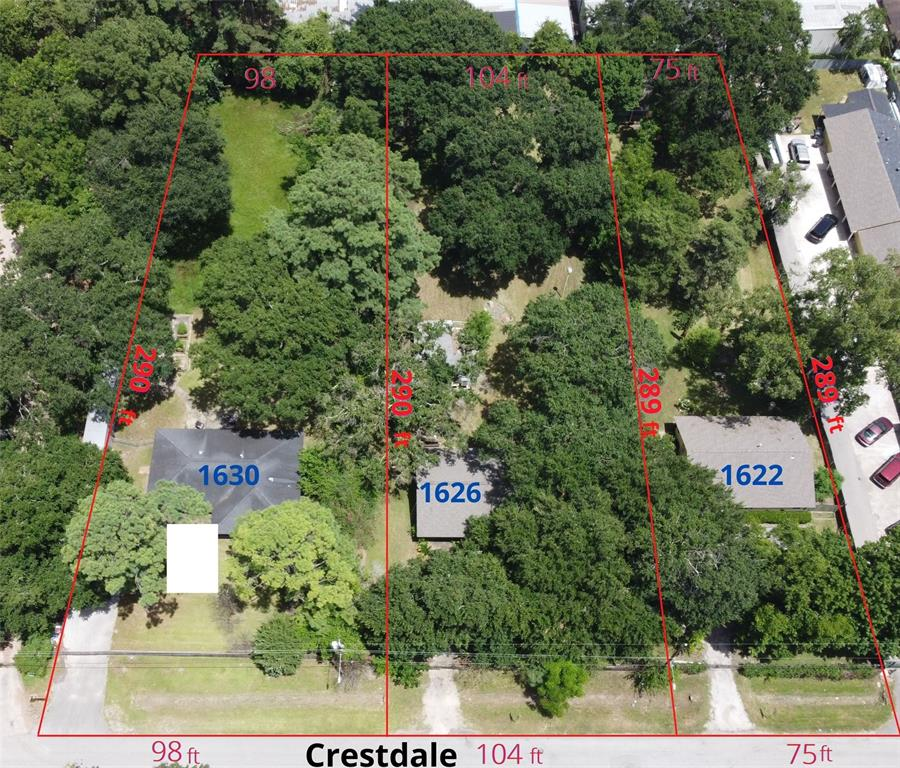 1622 Crestdale Drive, Houston, TX 77080