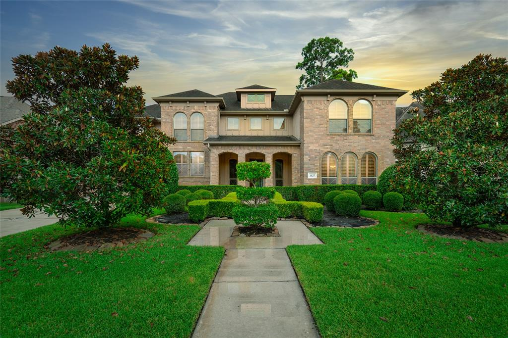 This beautiful home was built by David Powers with endless upgrades. The lake view is spectacular from the inside and outside. The phenomenal pool is breath taking with multiple mini-fountains. The patio is one for entertaining. Beautiful custom wood shutters throughout. Custom hardwood floors on formal dining and primary bedroom. Private study/home office off the master suite. This master suite includes a cozy sitting area for your morning coffee oasis. The gourmet kitchen has two-toned island and granite countertops. Private outdoor oasis with no back neighbors. Recent Tankless Water Heater, AC and security system. Gated community. Low tax rate. Short commute to Exxon Mobil and the Woodlands. NO FLOODING. This is a must see property in the highly desirably area, Lakes of Cypress Forest! This property appraised for much higher than the list price unfortunately the sellers had a job change. We have a recent inspection for your review.