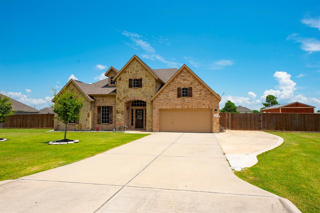 Charming home on 1.175 acres. K.Hovnanian home single story open concept home. Split floor plan feature 4 bedrooms and 2.5 baths Large Island kitchen with breakfast bar.  Formal dining room is large and will be perfect for all your family gatherings. Outside you will find large extended patio and outdoor kitchen. Pergola with sitting and room for a fire pit. Call today for a private showing.