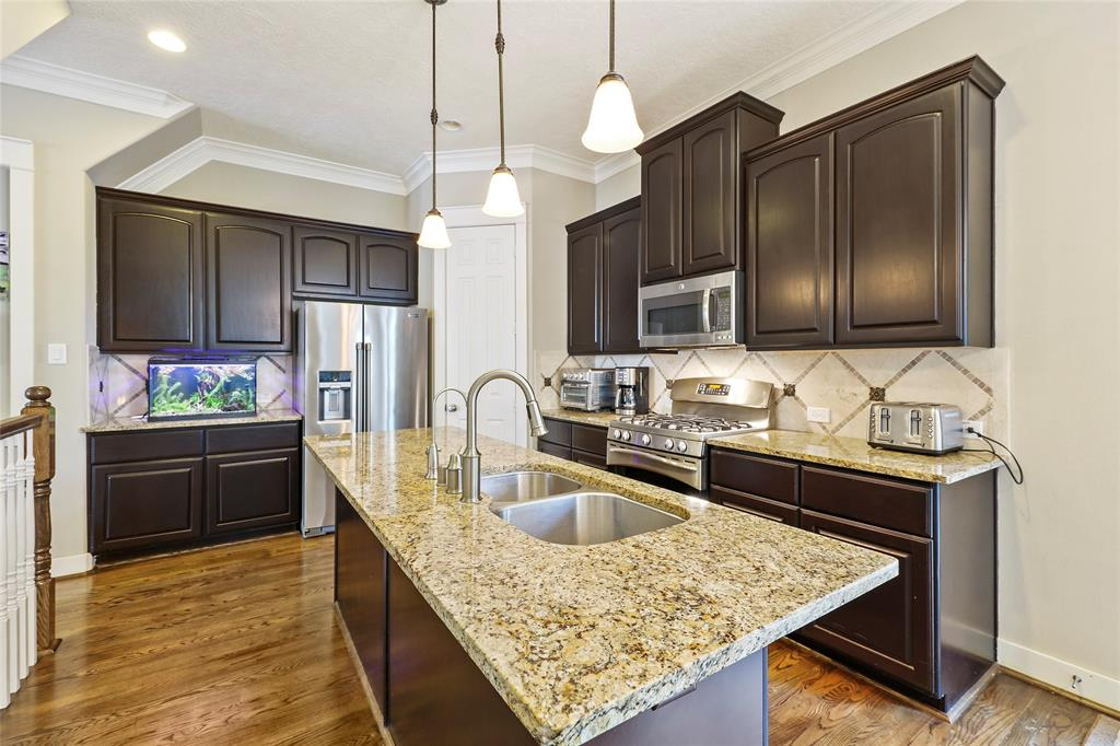 You will love entertaining in this home with the large center island kitchen with counter seating.