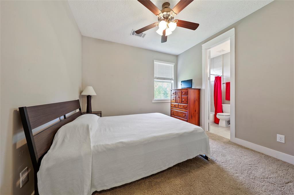 Bedroom #3 with en-suite bathroom.