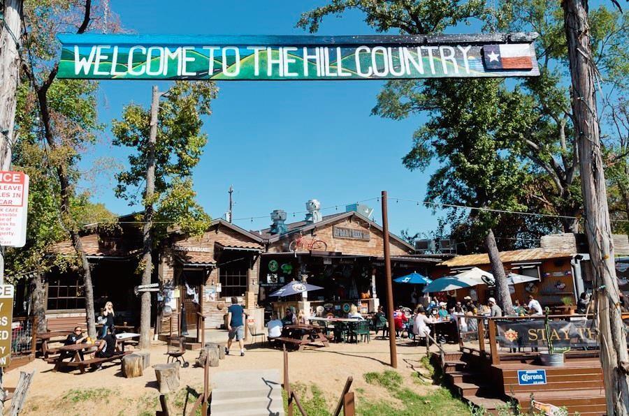 Enjoy outdoor eating at neighborhood hangout Cedar Creek!