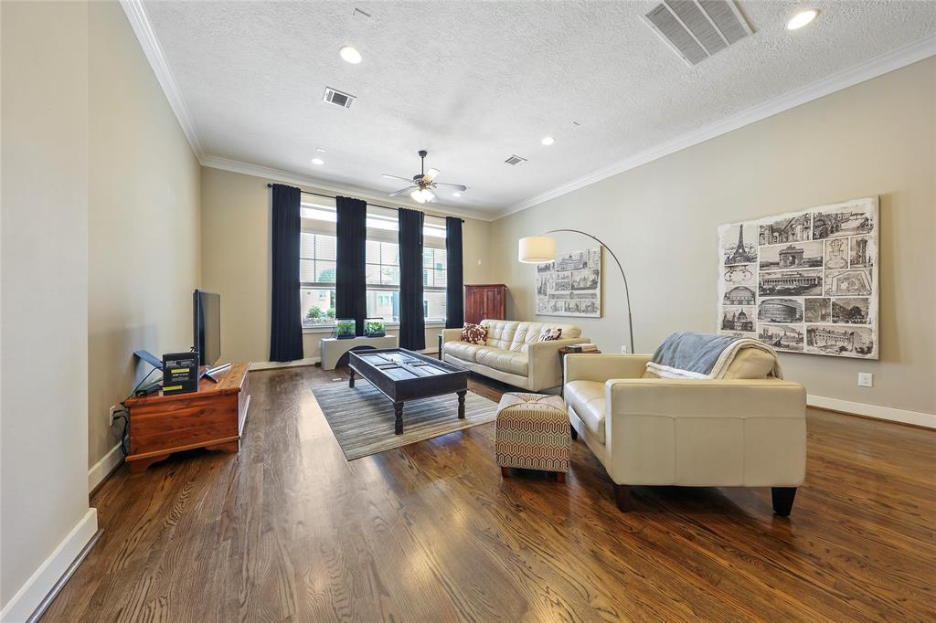 Relax with your family or watch the big game in the spacious living room.