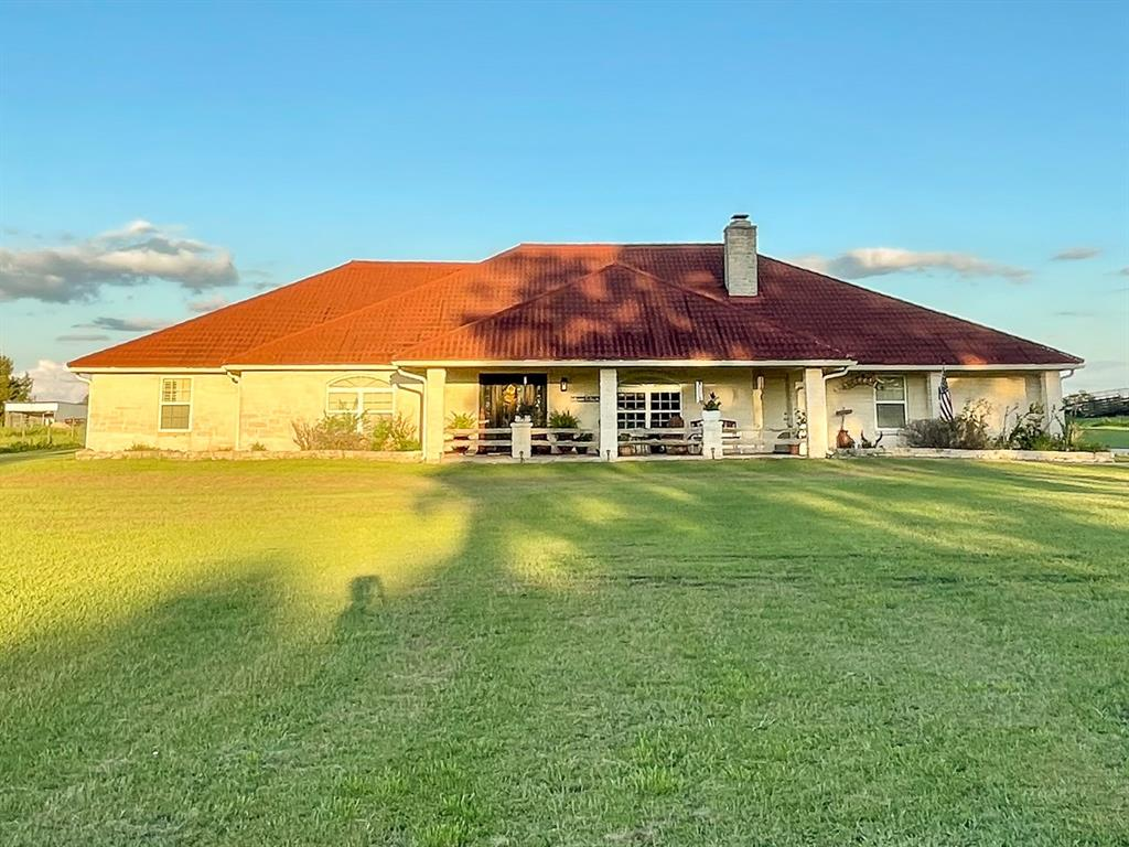Enjoy relaxing pool-side evenings watching the beautiful Texas sunsets! This magnificent improved 10-acre ranchette is located on a low-traffic FM road. The property has a custom-built white rock house (3,225 SF), built in 2003. Fenced/cross-fenced with a half-acre pond. Ready for your cattle or horses! Located just outside Lovelady, TX, a charming small town which you'll find restaurants, schools, and shopping. Other points of interest include the City of Crockett, the City of Trinity, the Trinity River, Lake Livingston, and Davy Crockett National Forest!