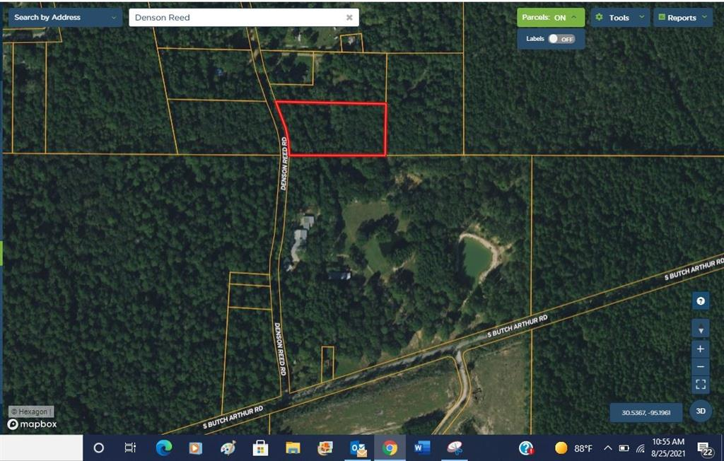 """2.59 Acres in Coldspring.  Unrestricted and tucked away in the Piney Woods, this property has a fixer upper home, underground electricity, water well, and a septic system.  Public water is also available per the seller. There is a creek/drainage running through the property and there is a nice canopy of trees. Partially cleared at the homesite and wooded as well. Property is being sold """"as is"""".  Close proximity to Lake Livingston and the Sam Houston National Forest.  Less than 2 hours from Houston and less than an hour from Conroe."""