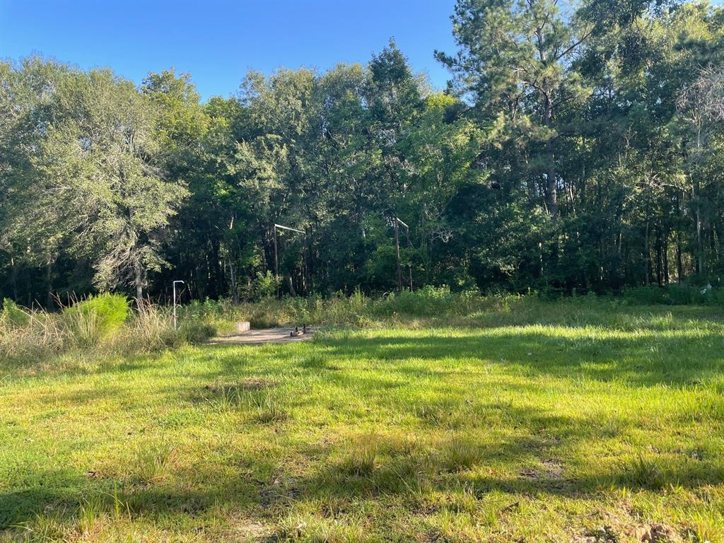 Three secluded acres at the end of FM 308.  Bordered on one side by state owned property.  Property gently slopes down hill with the lower 2 acres in the flood plain.   Water, electricity and septic on site.  Upper area near road formerly had a mobile home and has a nice open grass area.  Flooded during Harvey.  Buyer should confirm school information.