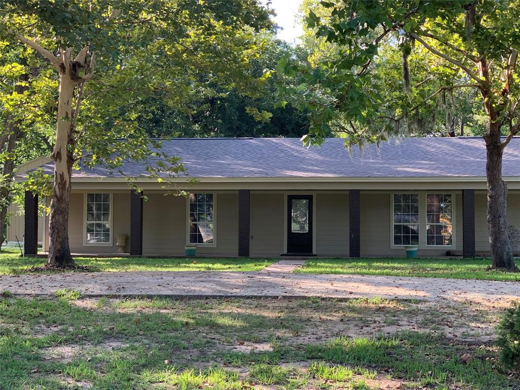 Beautiful 5 bedroom 3 bath home, with 2 master suites.  This home has been completely remodeled and is ready for a new family. Home sits on 2 acres and the ranch is directly connected to the house and has 108.33 acres.  Approximately 45 acres is cleared and used for pasture land.  The 135 acres has large oaks and pecans with several ponds.  If you are looking to hunt, there's plenty of deer and hogs that stay close to Little Linnville Bayou that holds water all year long. There is also a 5,000 sq ft shop/barn that has concrete floor, 5 roll up doors and 1 man door.  It's an amazing shop that was made with industrial steel, you have to come see this shop! This property is currently AG exemption.
