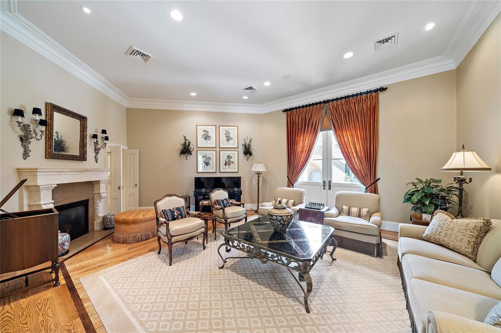 Additional formal living room