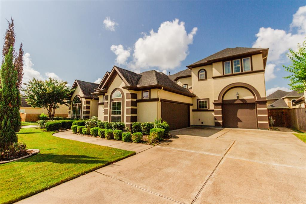 Welcome home to 3814 Nottingham Bluff Lane located in Avalon at Pine Mill and zoned to Katy ISD. This gorgeous Taylor Morrison home features 6 bedrooms, 5 full baths, and a 3 car garage. The chef's kitchen features dark stained cabinetry with granite countertops, separate island, SS appliances and room for bar seating. The family room includes a fireplace with mantel, wood flooring, and large windows. End your days in the master suite. The master bath includes a large walk-in shower, separate garden tub and walk-in closet. Downstairs you will also find 2 secondary bedrooms, formal living, dining and space for study. Come upstairs where you will find the game room and media room. Don't forget to step out back for a view of the enclosed back patio, pool with spa, water feature and fire pits. You don't want to miss all this home has to offer! Check out the 3D tour & schedule your showing today!