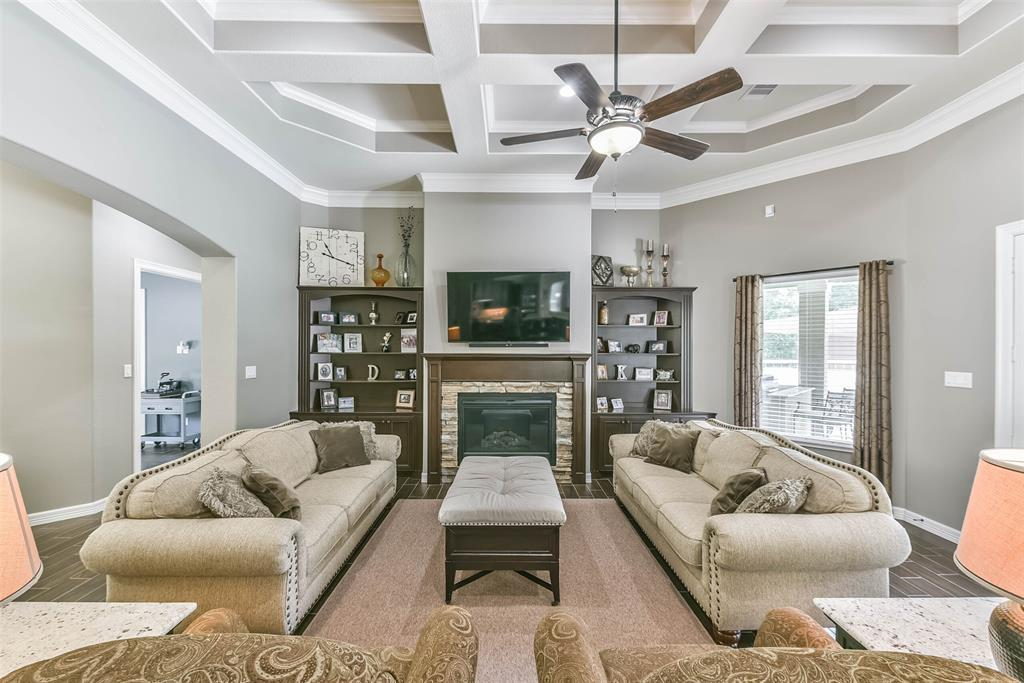 Location!!! Welcome Home to this well maintained custom 1.5 story w/ bonus room on top! This home sits on a quiet cul-de-sac of 2.4 Acres of Bliss. Featuring: Trey Ceiling; 3/4 bdrms (Or office) dn; Formal Living; Formal Dining; Upgraded Chef Kitchen w/ island & Bkfst bar, Granite, Pot Filler, Tons of Space & Storage; Bkfst rm; Primary bdrm w/ walk in closets & Amazing ensuite; Pool Room w/ Wet Bar or turn into Entertaining area w/ coffee bar; 5 full bathrooms, Huge Bonus room up; Attic storage; Gorgeous tall windows in the back for the view of the Pool, Outdoor kitchen, Huge covered patio and more in the sun; 1/2 Private Aerated stocked pond, Mature trees, 40x60 Shop w/13' eves, 3 bays & 20' slab in front w/ a Lift & Air Compressor, Electricity & Water; Extra covered car port in back for more RV's & Boats; Automated side gate to back Shop; 3 car Oversized garage to fit all Dully's & Golf carts; Generator; No Flooding; Close to 99, 59/69, Beltway, IAH, Food & Shopping. Low Taxes!