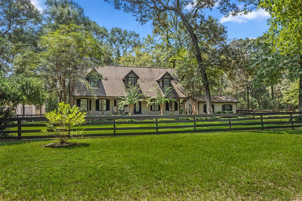 Quiet country living right off of Hwy. 1486 & Aggieland Expressway. An 8-acre property w/ a 2460 sq. ft home, 100x60 metal building, 22x20 office building & horse barn. The 2-story home has (4) bedrooms/2.5 baths with a spacious kitchen overlooking the large family room. Upstairs are (3) secondary bedrooms & a bath. Step out your backdoor to a massive deck equipped with a stand-alone hot tub, dual BBQ pit, bar seating area & plenty of space to have large gatherings.  Adjacent to the main house is the 22x20 office building-versatile space for a variety of needs. The metal building has 20' eaves, (1) 16x16 roll-up door & (3) 12x14 roll-up doors. It is designed for a 42' Fifth Wheel RV pull-through. The horse barn has (6) horse stalls, a washroom, & a cedar tack room with built-in cabinets, saddle & blanket racks. There is a separate guest house on the property that can be included or moved off of the property.  Call to find out about additional features of this property!