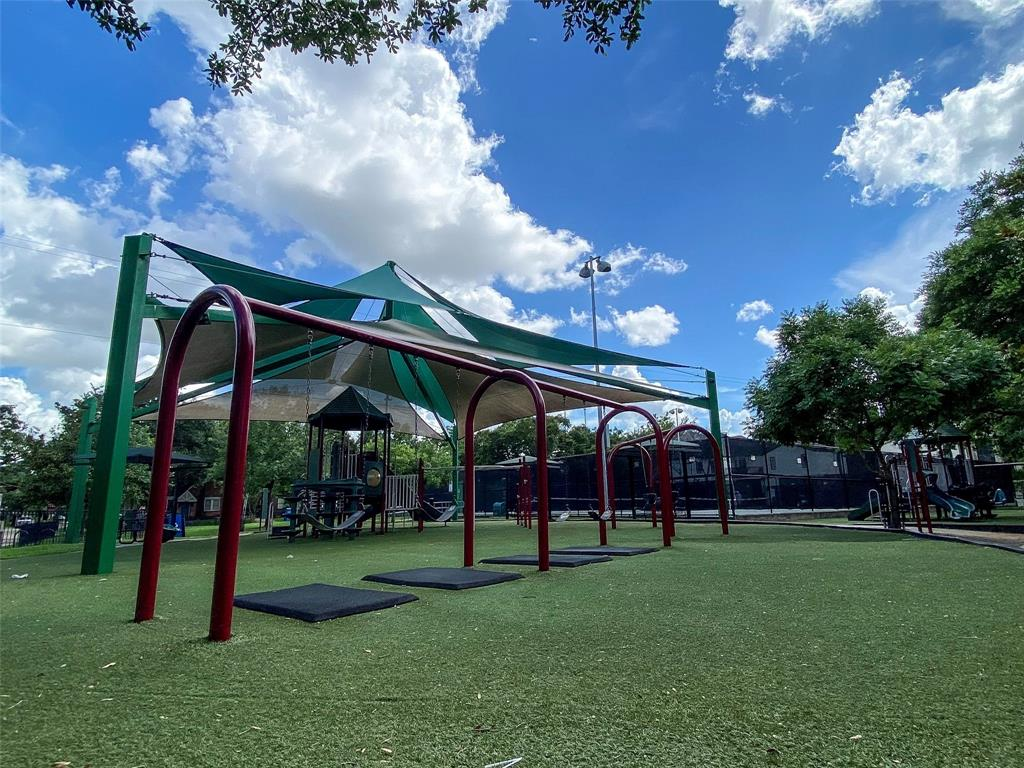 Within two blocks, walkable Wier Park with a pristine playground and tennis courts facility.