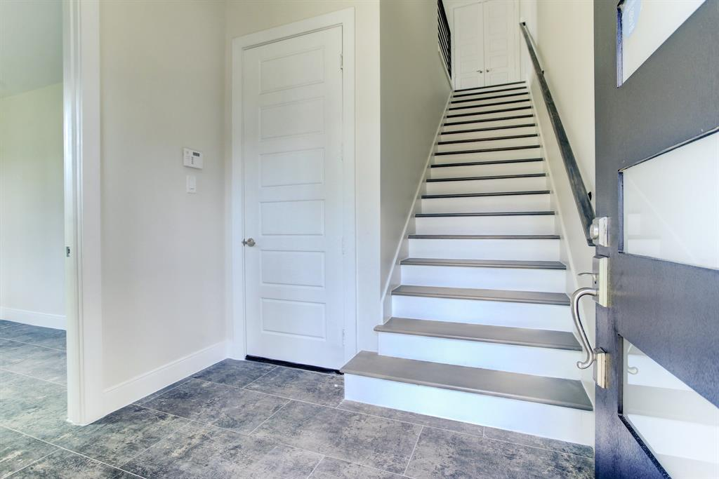 Entrance into townhome