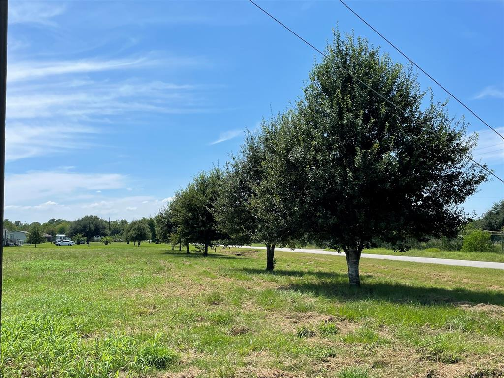 Fabulous opportunity to purchase an acre and a half of cleared land in desirable Needville ISD for your dream-home or as an investment.  Property is located at the corner of Rhoda Ln and Brinkmeyer Rd, directly across from Fields Fairways Golf Course.  Culvert is in as well as nicely developed tree-line for privacy roadside.  Come visit this beautiful acreage today and let your dreams run wild!