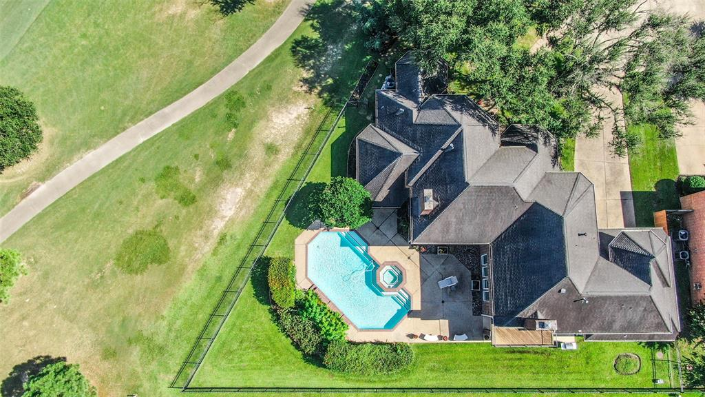 Stunning Custom Home on Oversized Culdesac Lot w/Sparkling Pool+Spa and Gorgeous Golf Course Views from every angle!  One of the Most Coveted Lots in Hearthstone!  This Beautiful home features a Dramatic Double Door Two Story Foyer, Double Staircases, Formal Dining, Two Story Formal Living + Family Room Overlooks backyard Oasis, Chef's Kitchen w/Island, Tumbled Travertine Backsplash, Silestone Counters, Plenty of Cabinet & Counter Space, LED Recessed Lighting, Convection Microwave + Oven, Breakfast Bar + Room, Butler's Pantry/Wet Bar Open to Family Room/Den, Spacious Downstairs Primary Retreat w/French Doors leading out to the pool & Dual Walk in Closets, Upstairs Game Room w/Balcony Overlooks the 1st Hole, 3 Oversized Bedrms + 2 Full Baths, Closet Space + Storage Galore, Ext Plantation Shutters, Ext Wood Look Tile Floors, Gorgeous Milled Woodwork, Mouldings & Built Ins, (3) 16 Seer Trane HVAC systems(8/20), Recent Hot H2O, Plus Much More!  Schedule your Showing today!