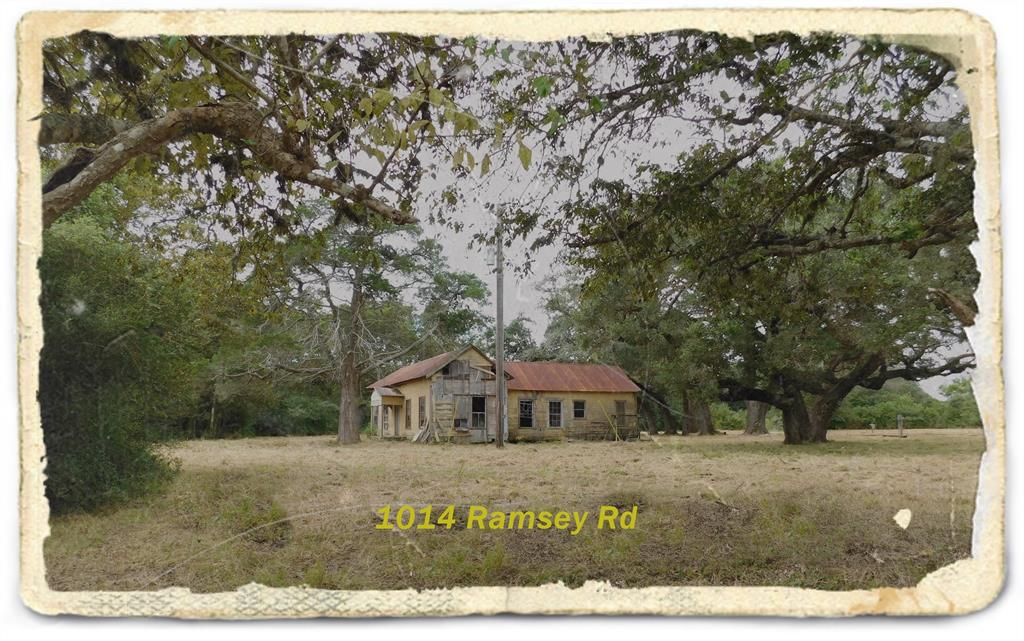 Huge Live Oaks fill this beautiful property located half way between Columbus and Eagle Lake. Plenty of open road frontage along Ramsey Road. The other boundaries are fenced. There is a home, barn, and shed built around the turn of the century. The barn and shed can still be used. 80' water well could be used for livestock, old septic on site, electricity in place at the RV site.Large native trees, thickets, and meadow make up the terrain. Don't wait to call on this one. It certainly will not last long.