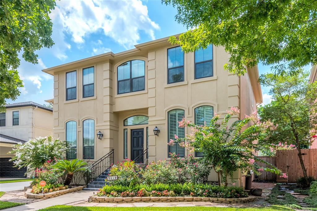 Exceptional price for this elegant Med Center gem offered by original owners. Classic Braes Heights appeal with wood floors throughout & spotlessly maintained by attentive owner. Gracious formal living and dining rooms with 10-foot ceilings & plantations, private study with built-ins. Sunny and spacious family room with a wall of windows to sparkling private pool w/waterfall & hot tub & lushly landscaped backyard retreat. Ideal cook's kitchen with 2 sinks, prep island, serving bar, walk-in pantry, adjacent breakfast and unmatched cabinet and storage space. Private master suite up w/step-vaulted ceiling,  spacious bath & closets. 3 additional bedrooms up w/en-suite baths. Enormous gameroom up with great closet space that would be an ideal 5th bedroom, home office, homeschooling room or conversion to a 2nd master suite. Sunny laundry up w/storage & sink. Convenient attached garage plus portecochère. Whole house water filter. Zoned to acclaimed Mark Twain Elementary. Call us.