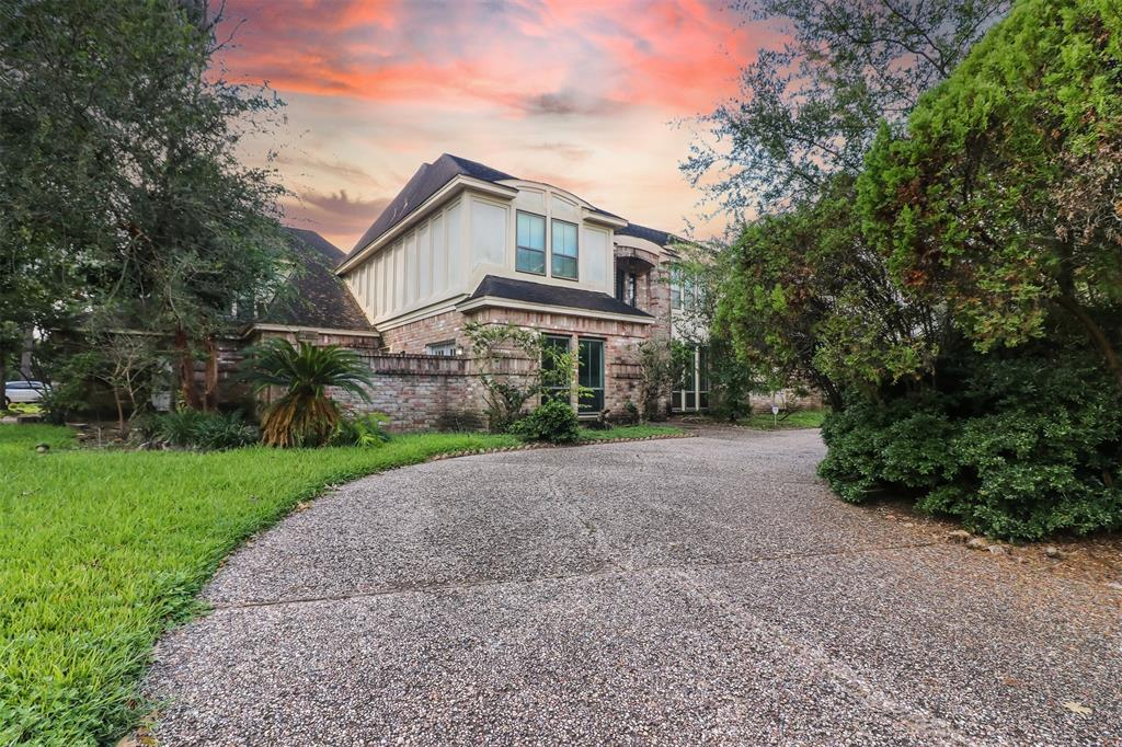 Located in the heart of the energy corridor, named one of the most thriving neighborhoods in Houston. Located in Katy ISD the second best A+ school district in the Houston area. Easy access to 1-10, City Center, Memorial City and numerous shopping. Walk or bike to Terry Hershey Park.  This gem is located on a corner lot. One of a few homes custom built by Kickerillo in the Fleetwood area. This rare 5 bedroom home features a wonderful layout with high ceilings the master bedroom is also located downstairs. Includes a formal dining and living room, study, upstairs family room/game room with wet bar and fireplace. Additional features include: front circle driveway, 3 car garage, pool with hot tub and sauna plus a guest quarters, perfect for mother-in-law, no entry from main house with 1 bedroom, 1 full bathroom, kitchen and living room combo.