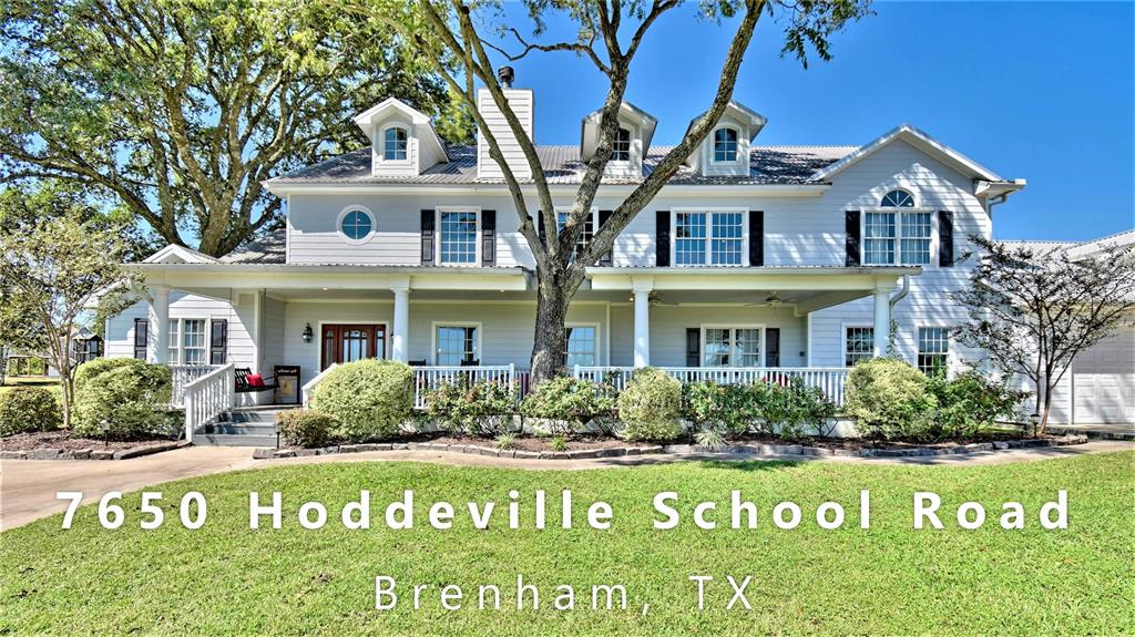 7650 Hoddeville School Road, Brenham, TX 77833