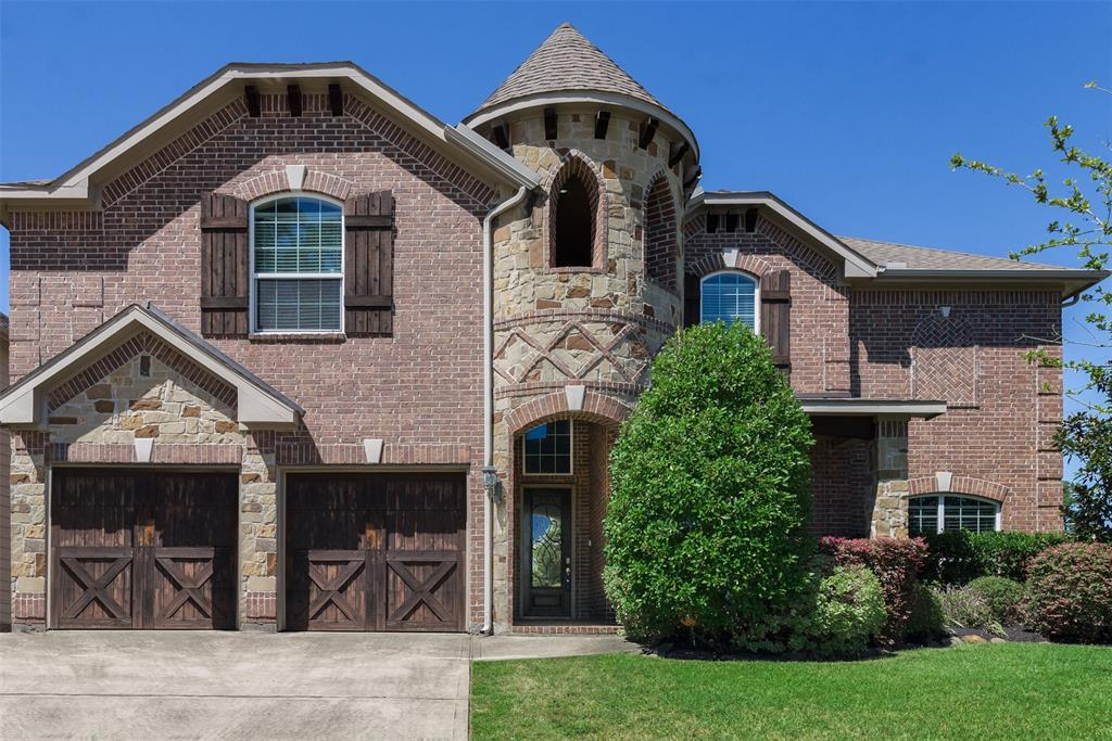 Must see Beautiful, Beautiful, Beautiful!!!! This home has wooded, tile, and carpeted flooring. Home has a grand entry with spiral staircase that has iron spindles, ceiling fans in bedrooms. Big walk-in closet in master bedroom with a separate shower and garden jacuzzi tub. An outdoor kitchen with extended covered patio perfect for entertaining and a large backyard for kids to play. Media has surround sound and microwave with mini fridge. It is located directly across the street from the park, tennis courts and community pool.  Close to I-45, Hwy 249 & the Grand Parkway. Klein schools.