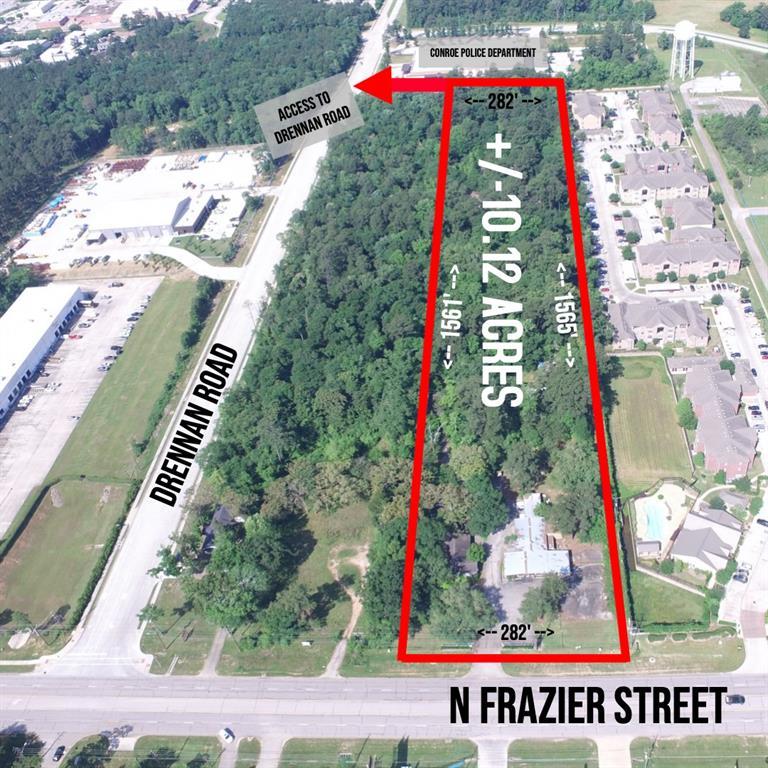 2411 N Frazier Street, Conroe, TX 77303