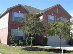 GREAT LOCATION MINUTES FROM I-45N NEXT TO TOP GOLF, NEAR EXXON CAMPUS, HARDY & 99 TOLL ROADS!  LIGHT & BRIGHT SPACIOUS 2 STORY HOME IN PRIVATE GATED COMMUNITY ON A QUIET CUL-DE-SAC LOT!  KITCHEN OPENS TO BREAKFAST & LIVING AREA WITH GAS LOG FIREPLACE!  SS APPLIANCES!  MASTER BATH WITH JACUZZI TUB AND HIS AND HER VANITIES.  GREAT SIZE BACKYARD & COVERED PATIO. A MUST SEE!