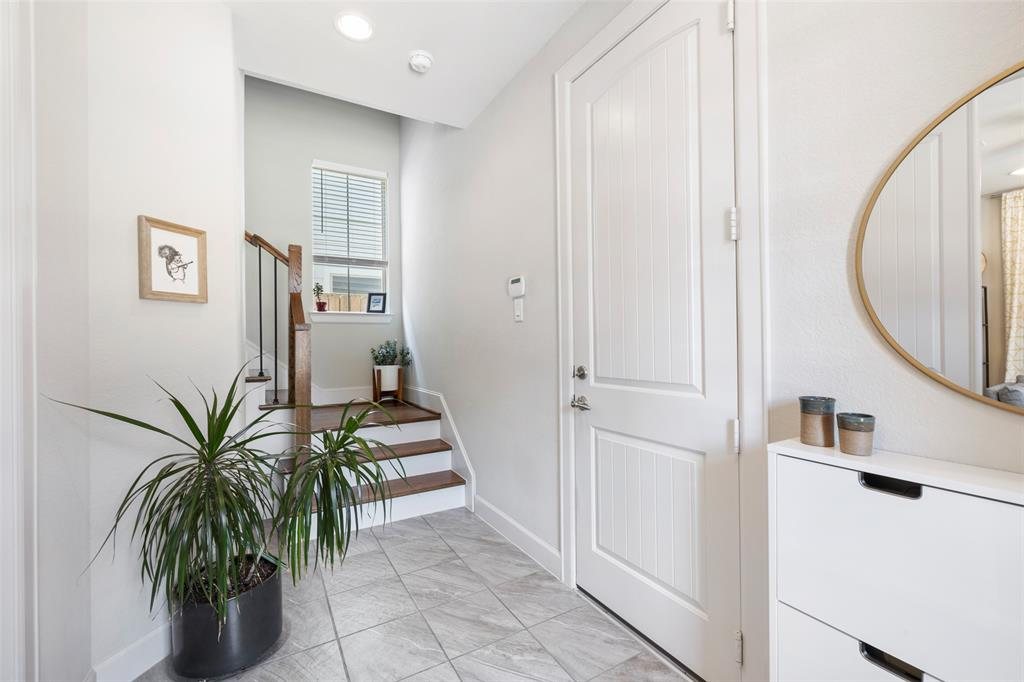 This home has been gorgeously finished with tile floors in the entry way and beautiful paint choices throughout.