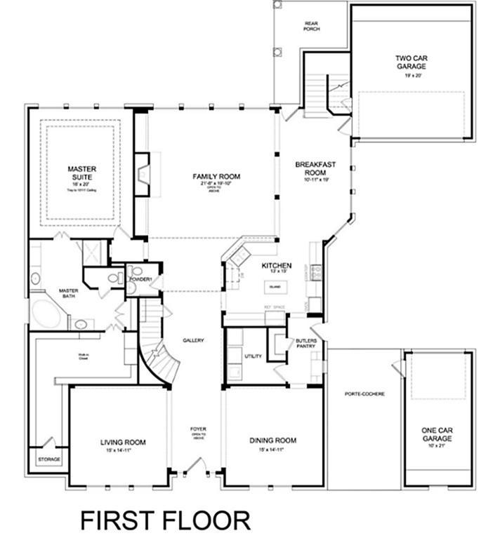 K Hovnanian Homes Floor Plans Texas