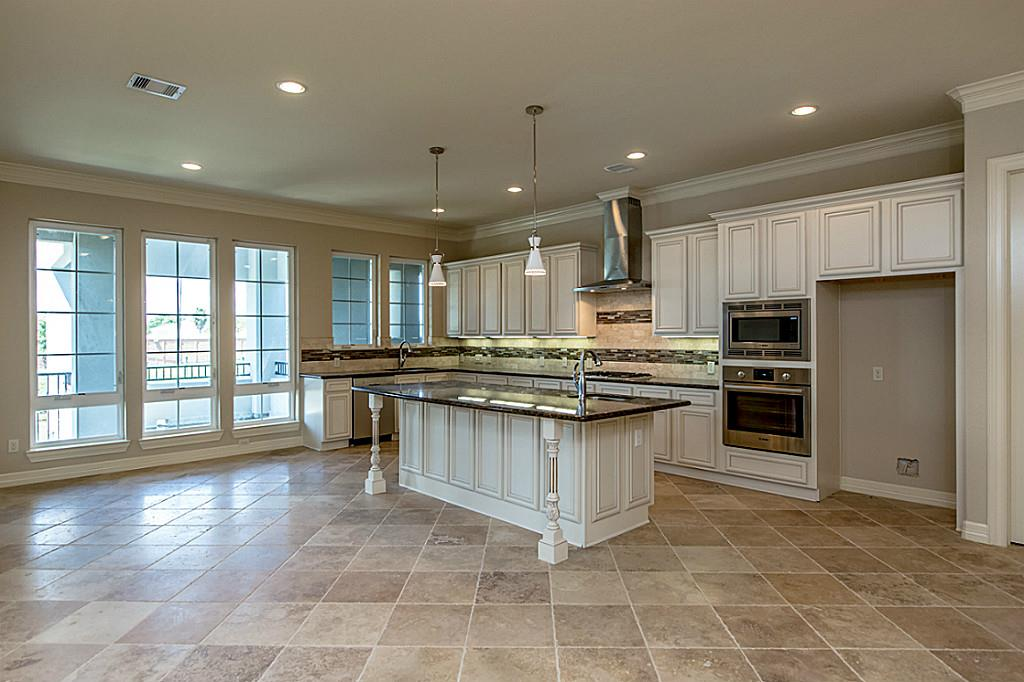 Kitchen With White Cabinets And Travertine Floors   Kitchen Cabinet .