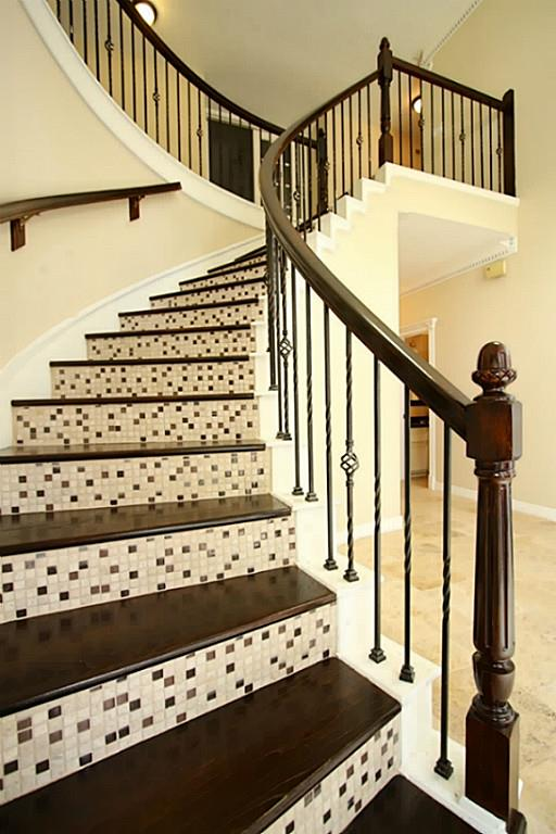 Fabulous Wood Stairs With Tile Risers Euffslemani Mg95