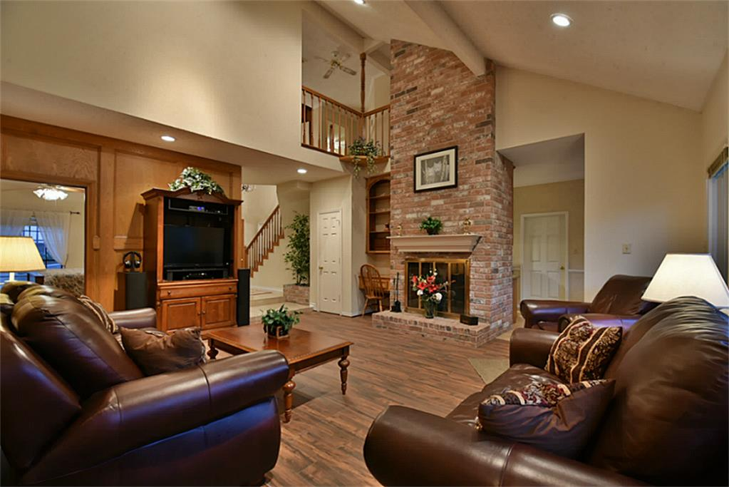 20206 Hampshire Rocks Drive Katy Tx 77450 Har Com Stone Fireplace With Cathedral Ceiling