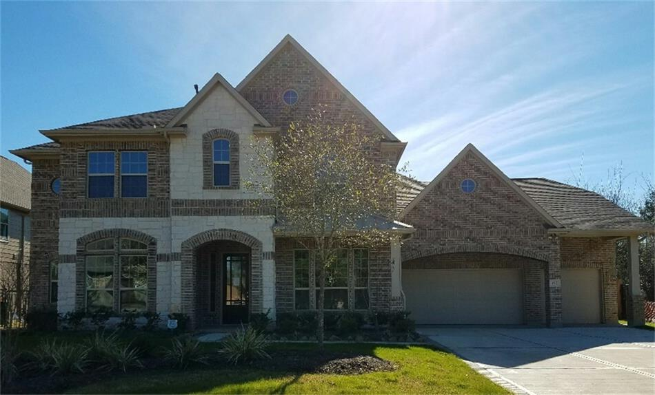 163 Ballantyne Drive Montgomery TX 77316 HAR – Newmark Homes Magnolia Floor Plan