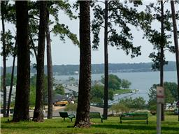 One of the prettiest views of Lake Conroe in Montgomery County! This is owned by the POA for all residents to enjoy.
