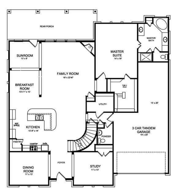 Deer Valley Mobile Home Floor Plans: 2202 Golden Bay Lane, Rosenberg, TX 77469