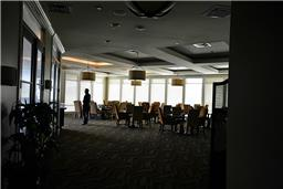club includes meeting rooms large & small, tennis courts, golf