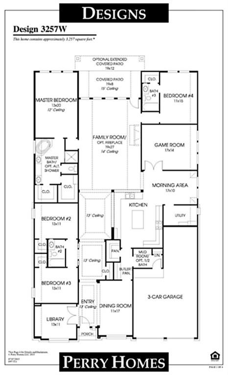 100+ Home Floor Plans Texas - Ranch Style House Plans Bedroom With ...