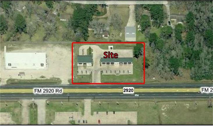 Commercial Lot on FM 2920 with improvements. This great opportunity will not last long. 43,390 SF lot on with 210 feet of frontage. Current improvements include a six bay car wash with an auto wash and another space to install an additional short tunnel unit. This property has Jim Coleman equipment. The property features concrete apron, surveillance cameras, credit card machines, four bill changers, The property is situated on approximately one acre. Being sold As is for Lot Value.